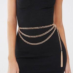 - tassel chain hip belt